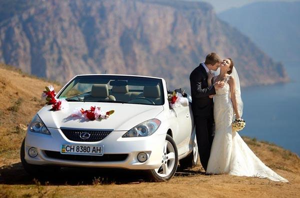 Какой транспорт выбрать для свадебного торжества