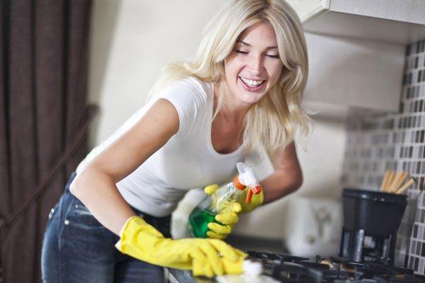 Эффективная уборка в квартире