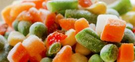 Использование замороженных овощей зимой