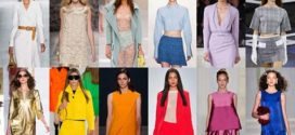 Модные цвета в одежде весна-лето 2016