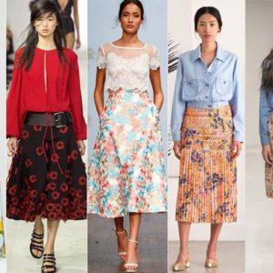 Модные юбки лета 2016 (фото)