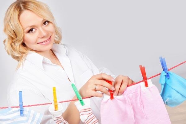 Правильный уход за одеждой ребенка