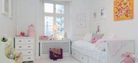 Интерьер детской в белом цвете