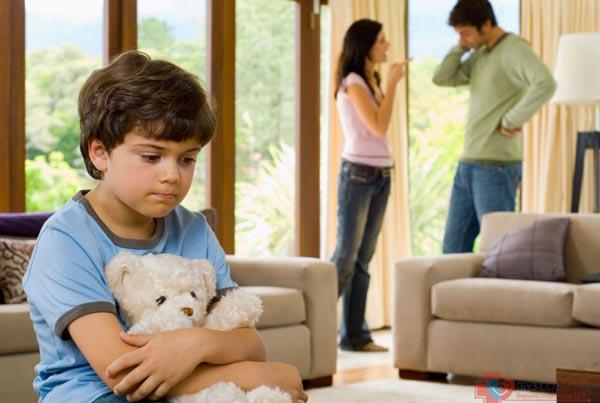 Развод и дети. Психология семейных отношений