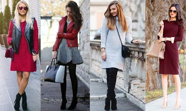 Советы стиля: с чем носить осенние платья