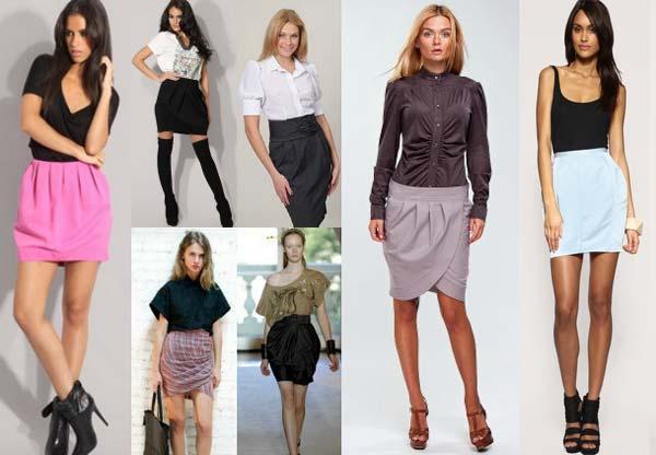 С чем правильно носить и сочетать разные фасоны юбок