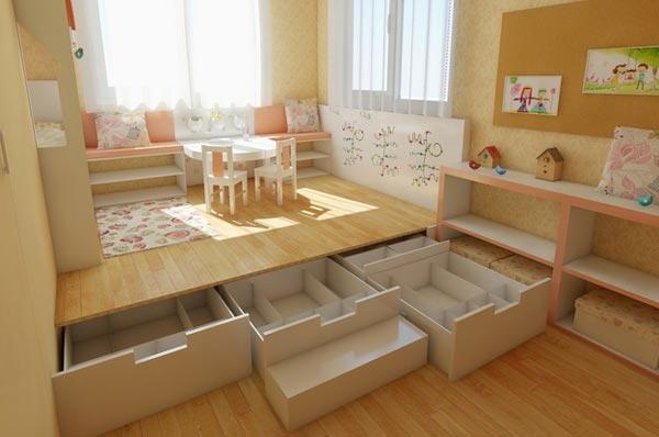 Зачем нужен подиум в квартире?