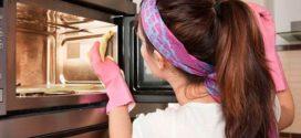 Как очистить микроволновую печь