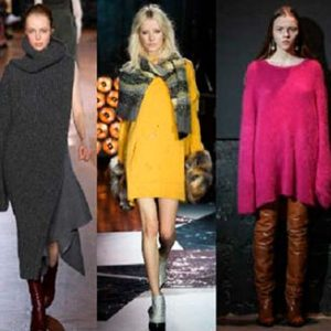 Модные женские свитера зима 2016-2017