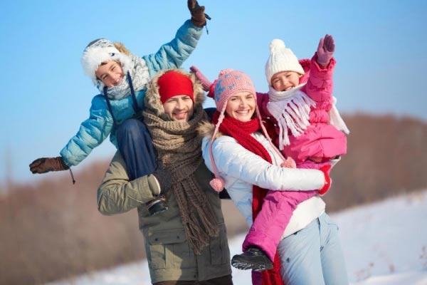 Зимний семейный отдых