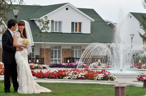 Свадьба в коттедже - последний тренд!