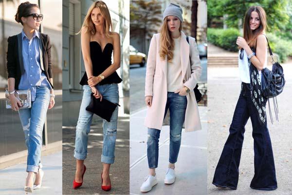 Джинсовые тренды в женской моде теплого сезона 2017