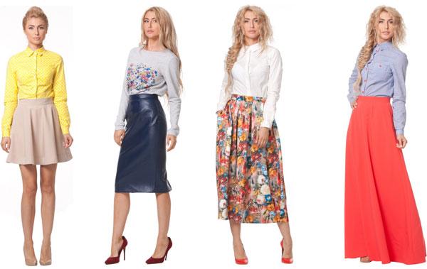 Популярные модели женских юбок: с чем носить и сочетать?