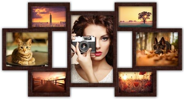 Какую рамку выбрать для фотоколлажа