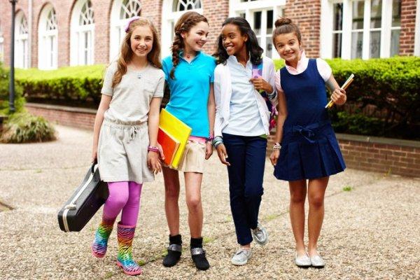 Как стильно одеться в школу или университет?