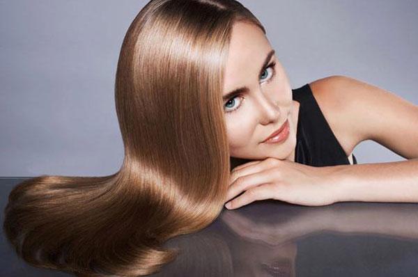 Как добиться блеска волос