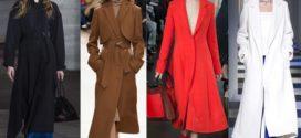 Модное пальто 2017-2018: способ стать элегантнее