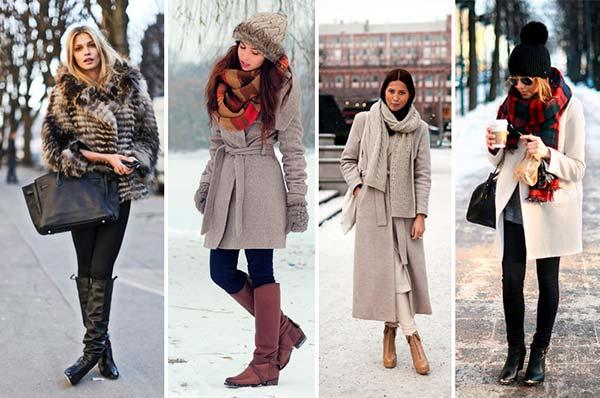 Как зимой одеться стильно?