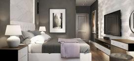 Спальня в современном стиле. Изящество и комфорт