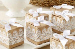 Бонбоньерки на свадьбу: для чего их дарят гостям и как их сделать
