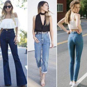 Джинсы 2018: модные фасоны, расцветки, декор