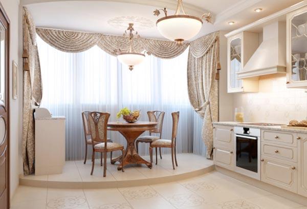Грамотное расширение пространств: кухня, совмещенная с балконом