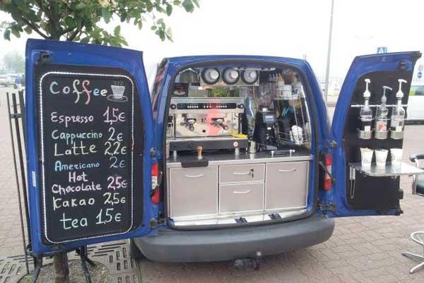Мобильная кофейня как бизнес