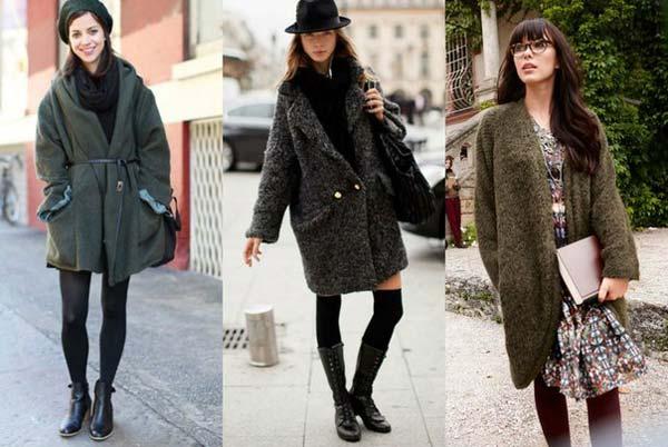 Пальто футляр на каждый день