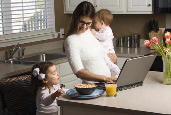 Влияние работы дома на женщин
