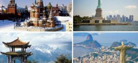 5 самых больших стран мира по площади (фото)