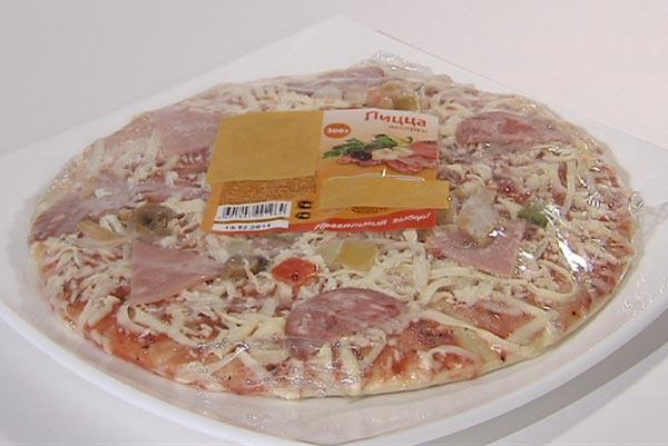 Замороженная пицца - плюсы и минусы