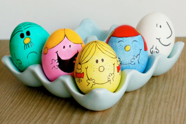 Пасха 2018. Как необычно раскрасить яйца (10 фото ...