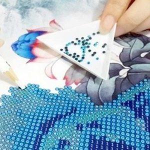 Виды алмазной мозаики и техника создания картин