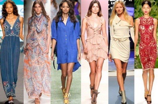 Модные фасоны платьев в 2018 году