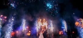 Фейерверки на свадьбу