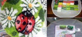 Ковровая вышивка – модный вид рукоделия