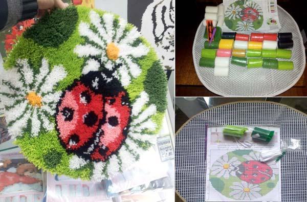Ковровая вышивка — модный вид рукоделия