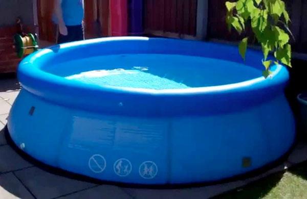 Как ухаживать за надувным бассейном в домашних условиях?