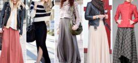 Модные длинные юбки 2018-2019