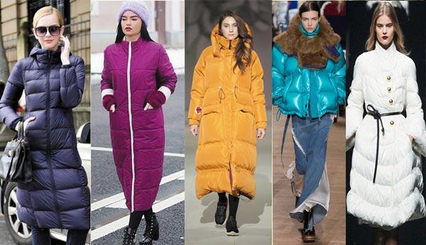 Модные пуховики осень-зима 2018-2019