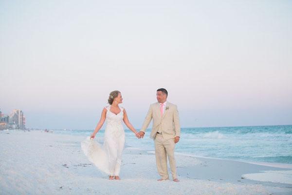 Свадьбы на пляже. Что одеть?