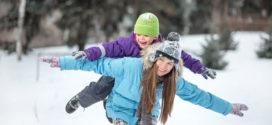 Согреваемся на зимних прогулках с детьми