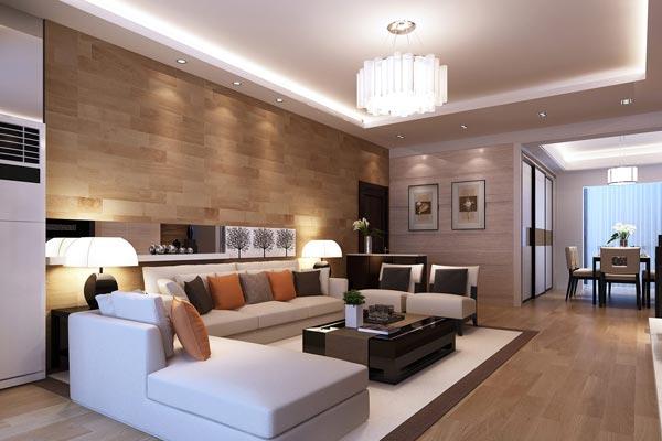 Как создать интерьер гостиной в стиле модерн
