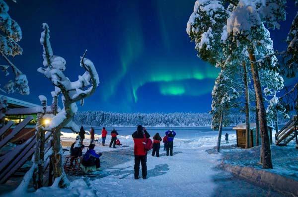 Лапландия - идеальное место для путешествия всей семьей