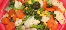 3 рецепта блюд из замороженных овощей