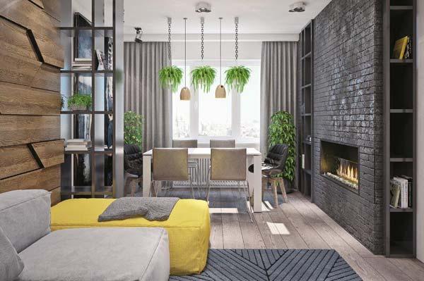 Дизайн интерьера в стиле лофт (фото)