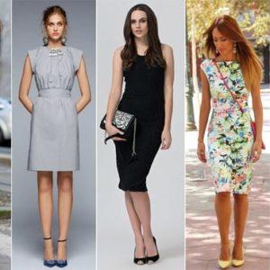 Какую обувь подобрать к платью-футляр