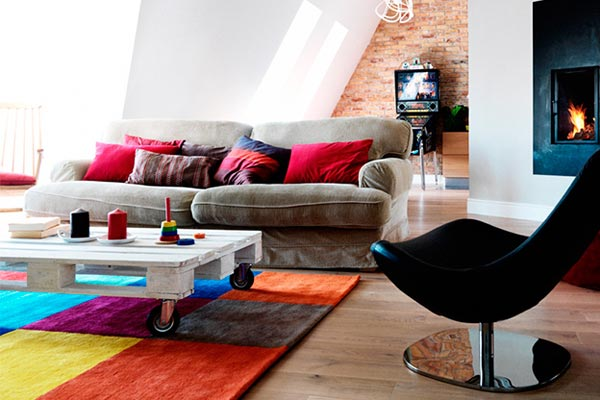 Влияние цвета на настроение и дизайн интерьера