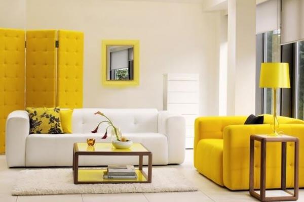 Влияние цвета на настроение и дизайн интерьера (фото)
