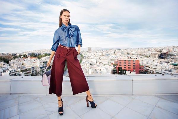 Женские брюки: модели, увековеченные Высокой модой